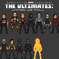 The New Ultimates~~ Heroes of New York by benshark92