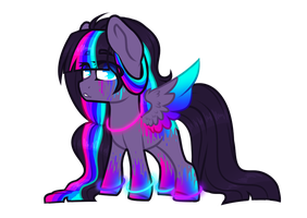 Neon Glowstick Pon (Auction-Closed) by Kittyx-Galaxy