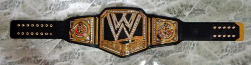 WWE CHAMPIONSHIP TITLE BELT by imranbecks