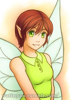 Commission - Fairy by Vatina