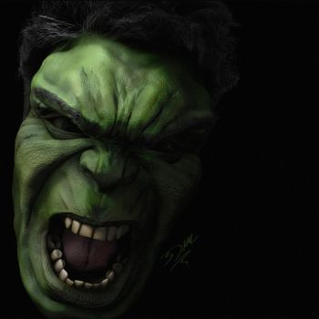 The Hulk by 3dmetrius