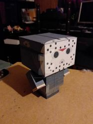 Jason Voorhees Part 6 CubeeCraft by SuperVegeta71290