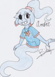 Art trade  Amber by Mochathespoongirl