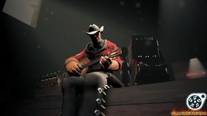 Acoustic Guitarist [SFM] by Sandstorm-Arts