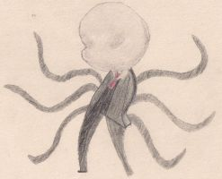Chibi Slenderman by Rpshadow100
