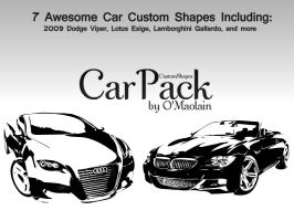 CarPack - Custom Shapes by omaolain