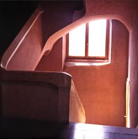 Staircase In Goetheanum 2 by Woscha