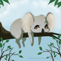 Koala by HidesBehindThings