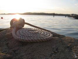 Boat rope by wellgraphic