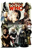Jon Pertwee Monster Pic by jlfletch