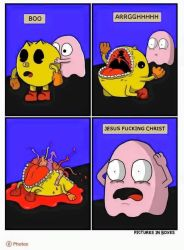 how pacman really dies by DaSpecialist