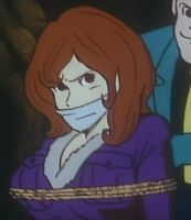 Fujiko tied up and gagged by mizuluffy2