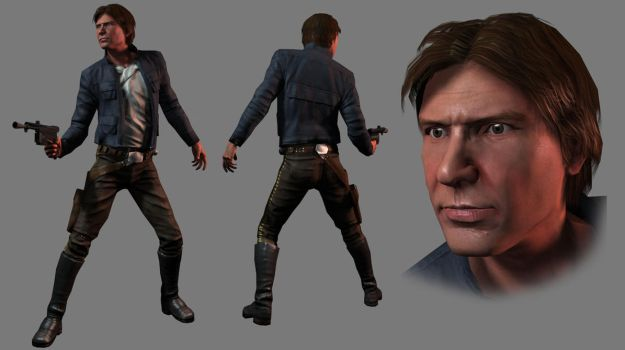 More Captain Solo by RedHeretic