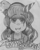 Happy Birthday, Lucahjin! by cosmo090909