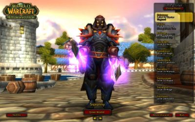 World of warcraft other toon by ssj3sunny