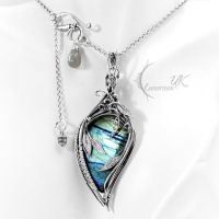 MYSDNHNYR  - silver and labradorite by LUNARIEEN