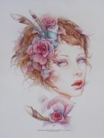 This, My Porcelain life- Print by JenniferHealy