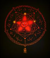 The Happy Pentagram by pitnerd