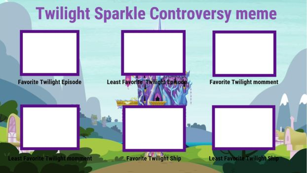 Twilight Sparkle Controversy Meme by XaldinWolfgang