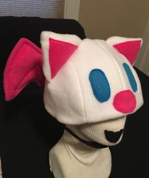 Final Fantasy V Moogle Hat by tacksidermia