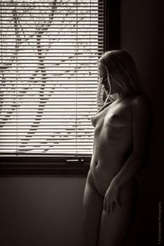 Nude Window Portrait by BrianMPhotography