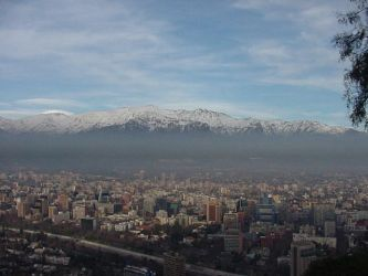 Santiago Mountians by nwinder