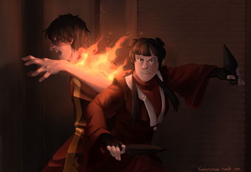 In The Heat Of The Moment by Kimmy-Tsunami