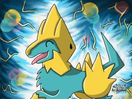 Happy Manectric by 29steph5