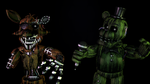 (SFM/FNAF) The Phantoms by TheDoubleAxe