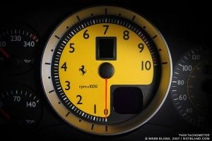 F430 Tachometer by notbland
