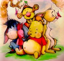 Winnie the Pooh by sheepy-sheep