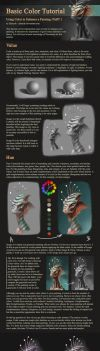 Basic Color Tutorial - Part 1 by Zhrayde