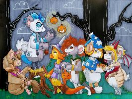 The Hollowbean Trick or Treat by jitsumi1221