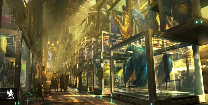 Guardians of the Galaxy- Collectors Museum by atomhawk