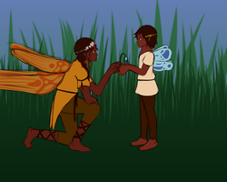 Fairies by Ahtilak