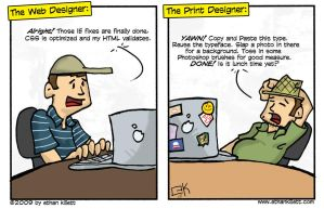 Web vs Print by ekillett