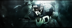 -.Justin Forsett Signature.- by dynamiK-farr