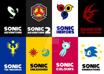 Sonic Game Cards by Sonicguru