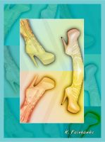 Four Boots (digital drawing) by kfairbanks