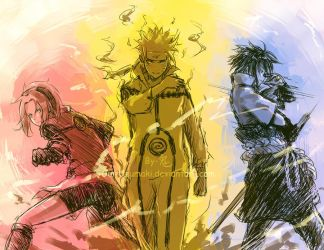 NARUTO-As strong as we were by Gin-Uzumaki