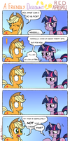 A Friendly Discount by RedApropos