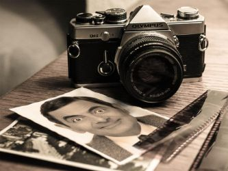 Vintage camera - photo effect by PhotoEffectOnline