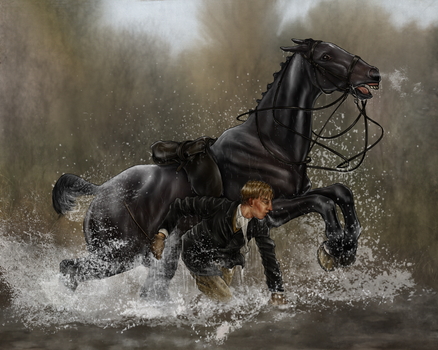 The Harpley Hunt - An Early Bath by oingy-boingy