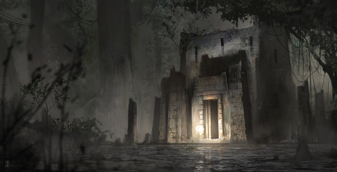 Temple of White Ardor by TyphonArt