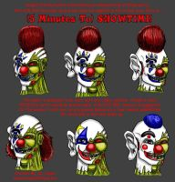 Showtime The Clown by DrPayne