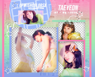 TAEYEON PNG PACK#1|SNSD by Upwishcolorssx