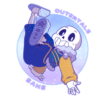 Outertale!Sans by AkaiTsukii