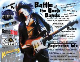 Battle of the Rock Bands Flyer by Sh4d0w-W01f