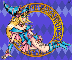 Dark Magician Girl by Kolomarii
