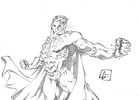 Superman Angry by marvelmania
